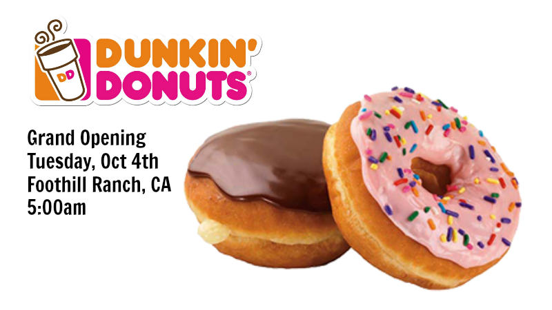 Dunkin Donuts Foothill Ranch