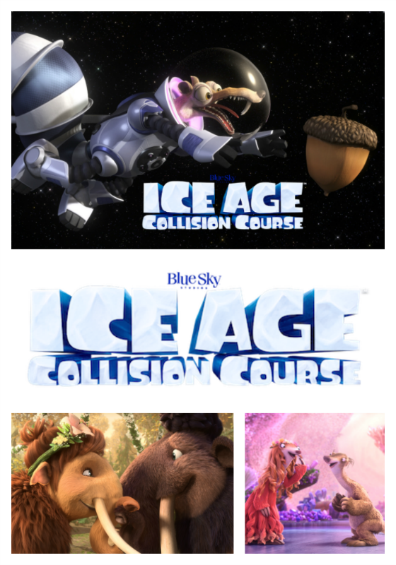 Ice Age Collision Course Blu Ray Giveaway