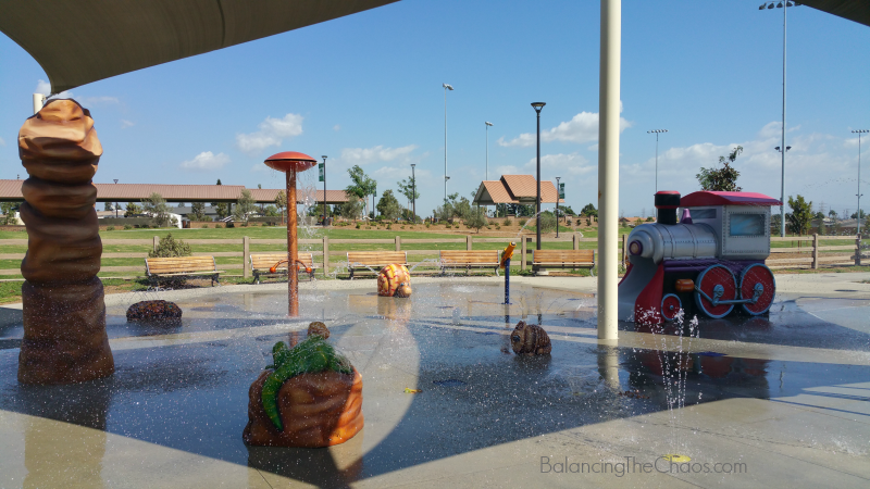 Stanton Central Park Splash Pad