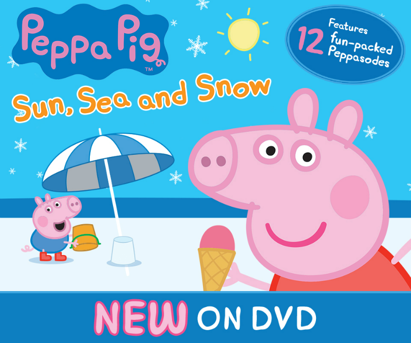 peppa pig sun sea snow