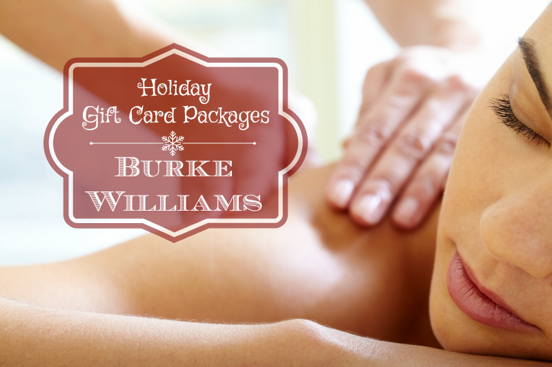 Holiday Gift Card Packages Burke Williams
