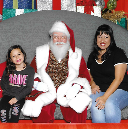 Visits with Santa at Brea Mall