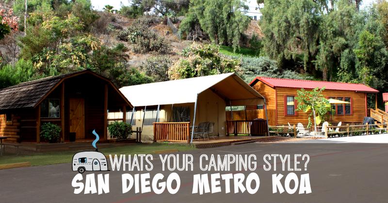 Camping Style San Diego Metro KOA