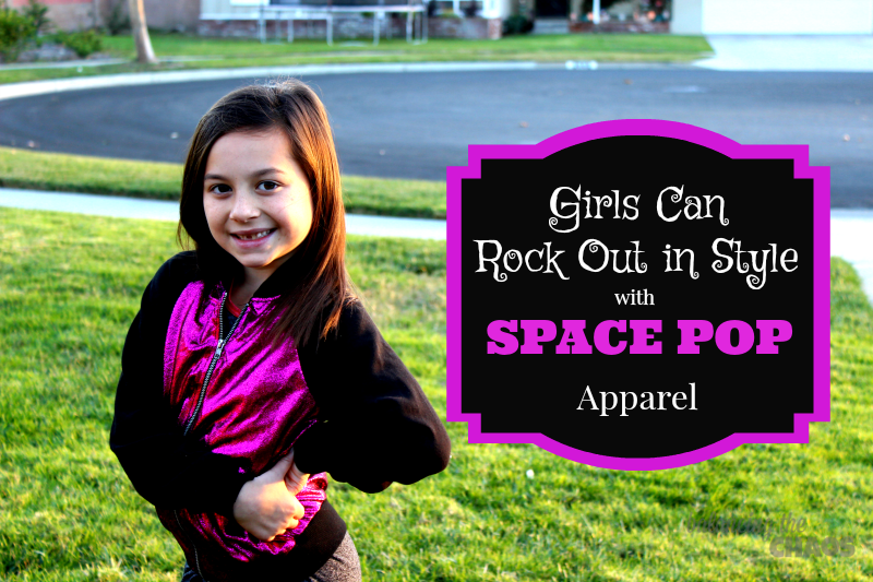 Girls Rock Out In Style With Space POP Apparel