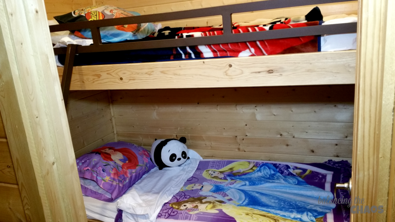 San Diego Metro KOA Manufactured Cabin Bunk Beds