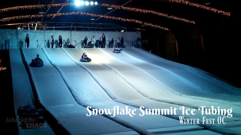 Snowflake Summit Ice Tubing Winter Fest OC
