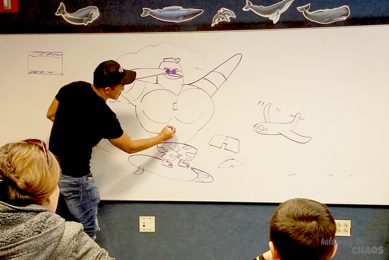 Henry Yu Classroom Sketches Surf's Up 2