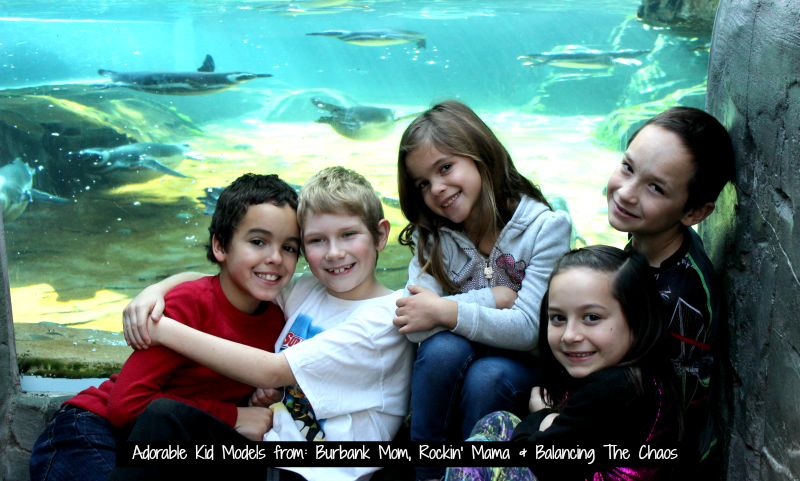 Kid models at Surfs Up 2