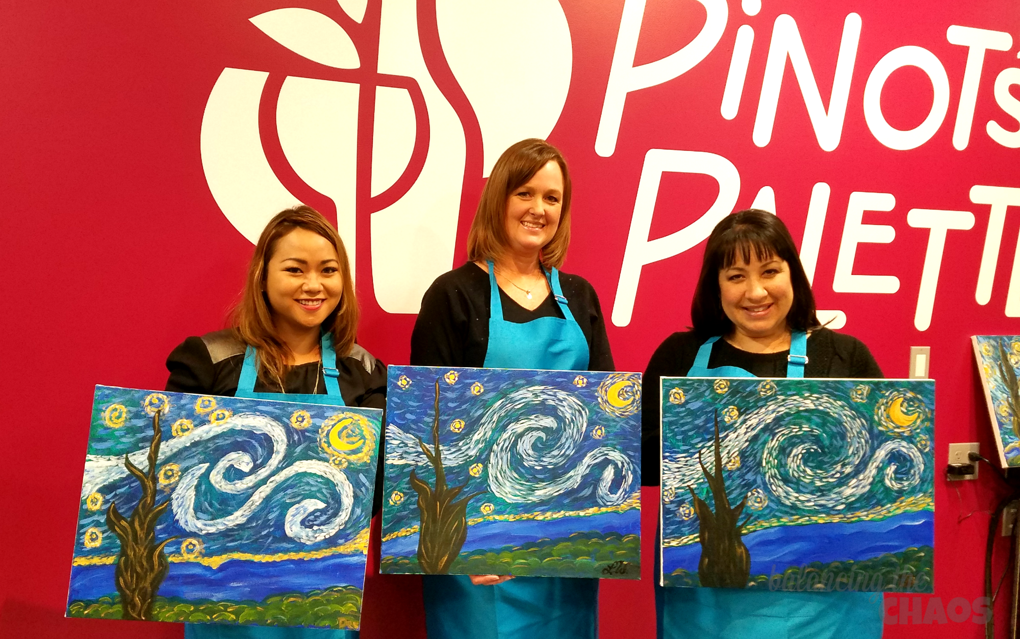 Pinots Palette Aliso Viejo Our Stary Night