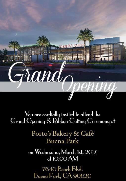 Portos Grand Opening