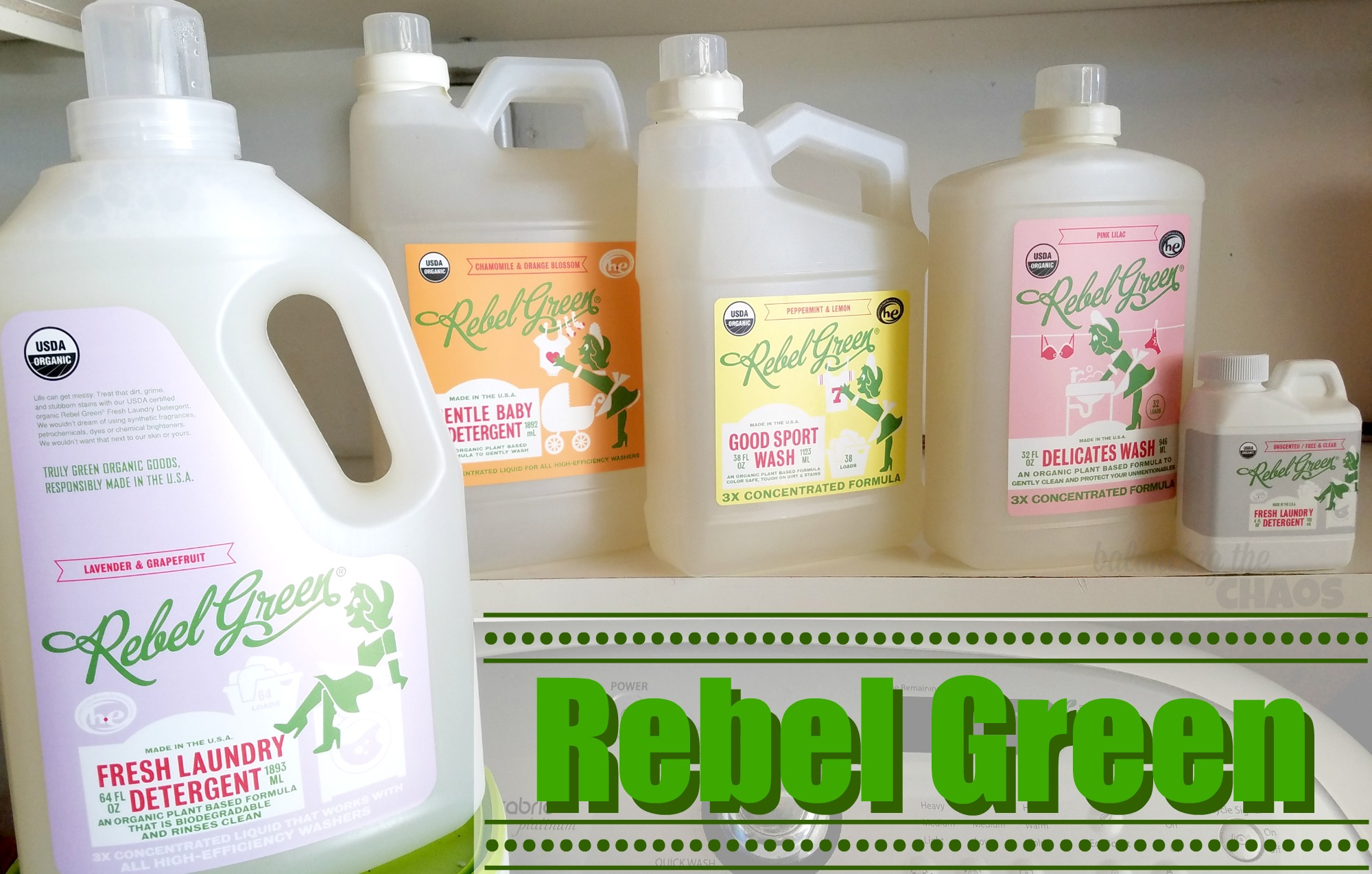 Rebel Green Laundry Detergent