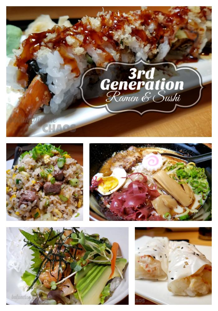 3rd Generation Ramen & Sushi