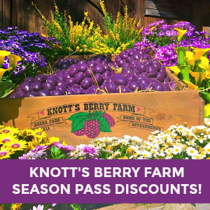 Knott's Berry Farm Season Pass Discounts