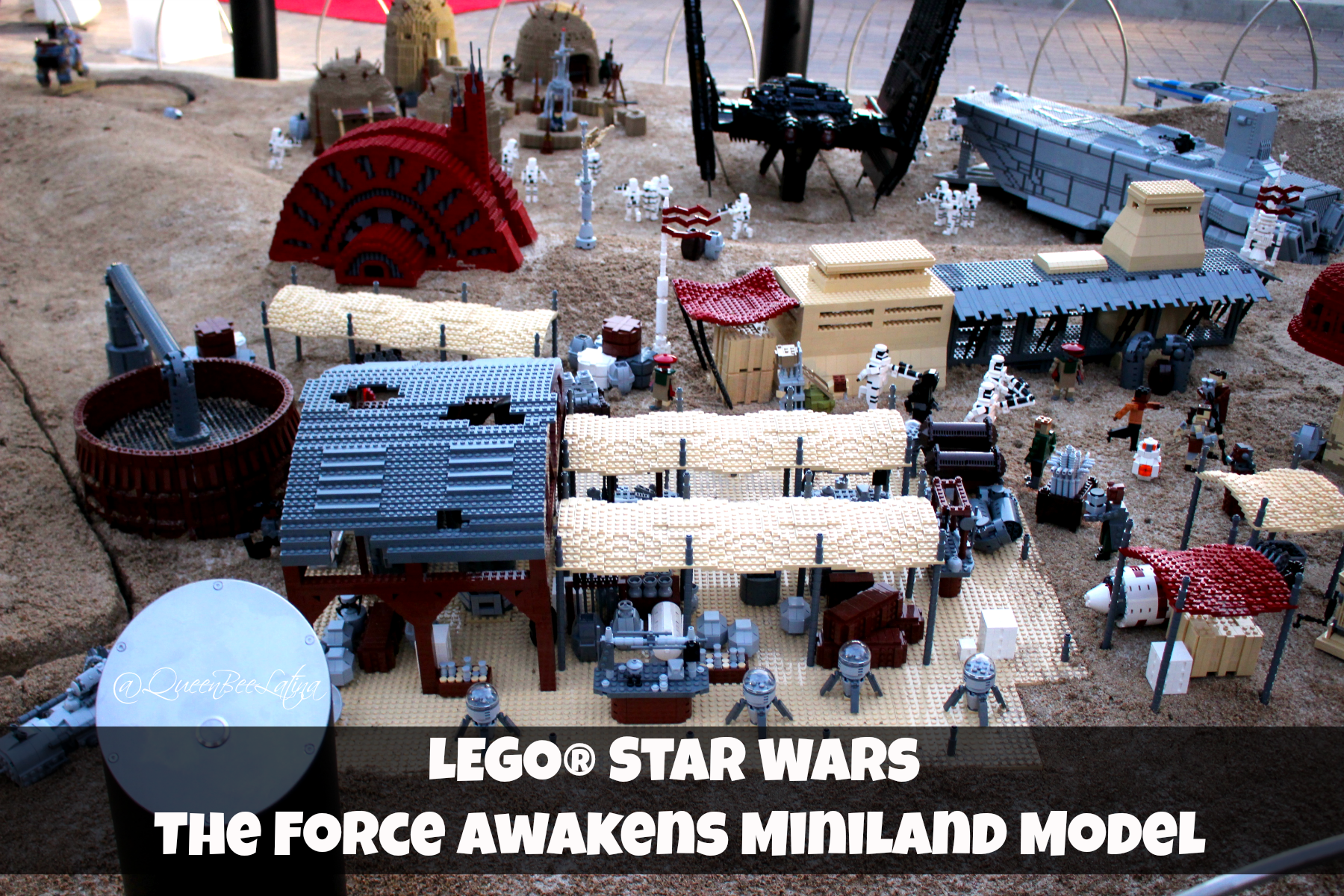 LEGO® Star Wars The Force Awakens Miniland Model