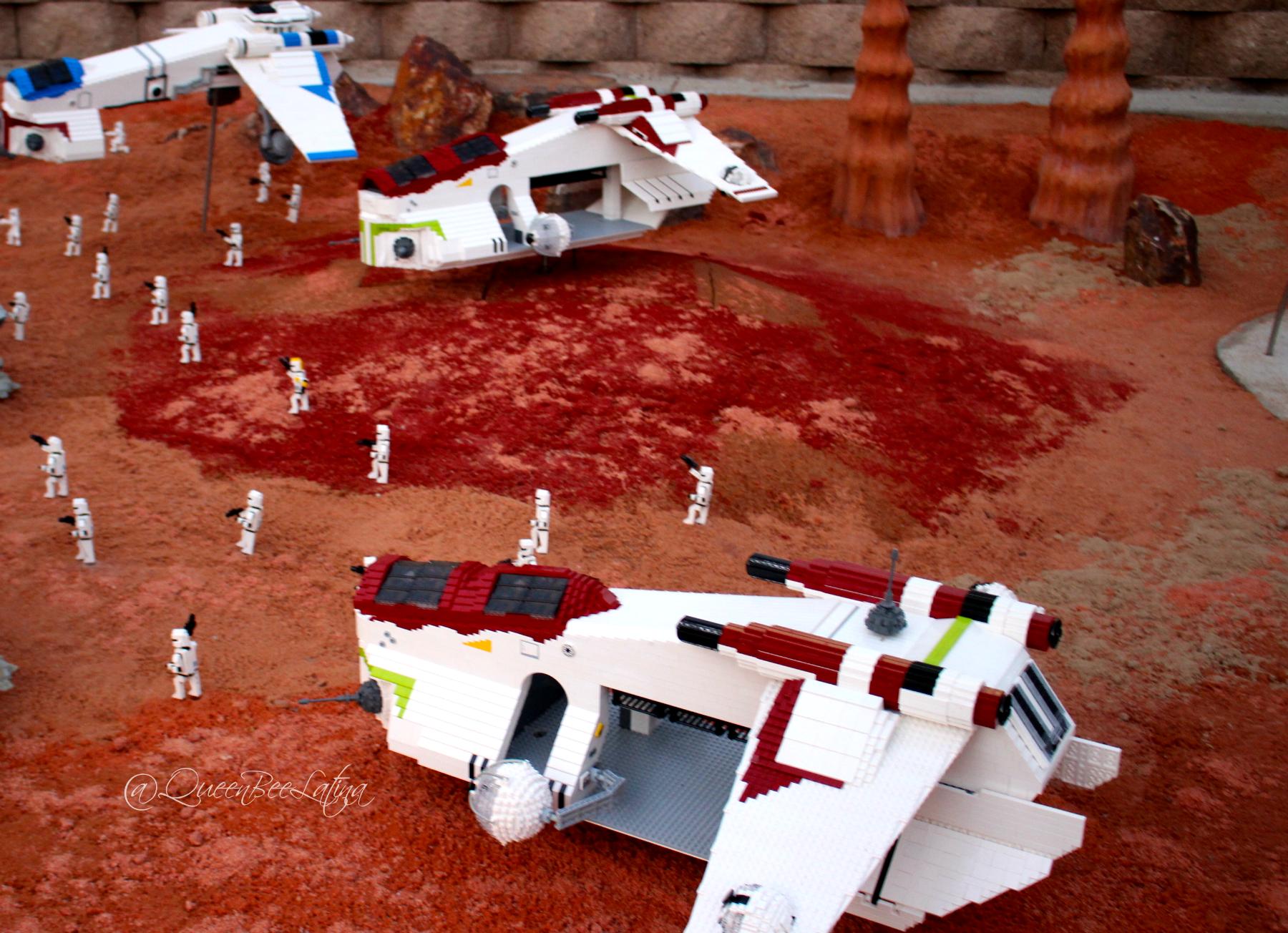 Lego Starwars Miniland
