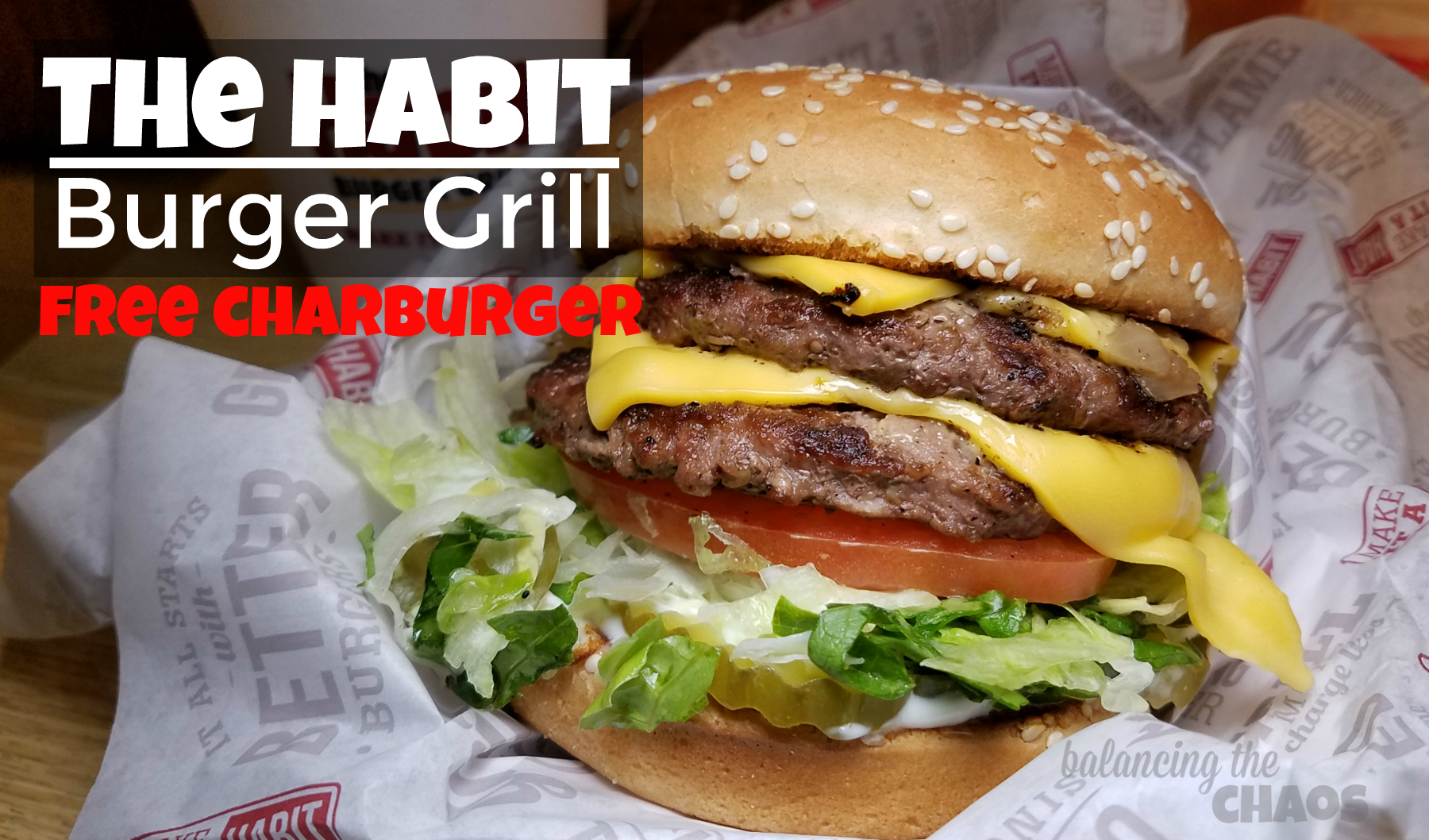 The Habit Burger Grill Free Charburger