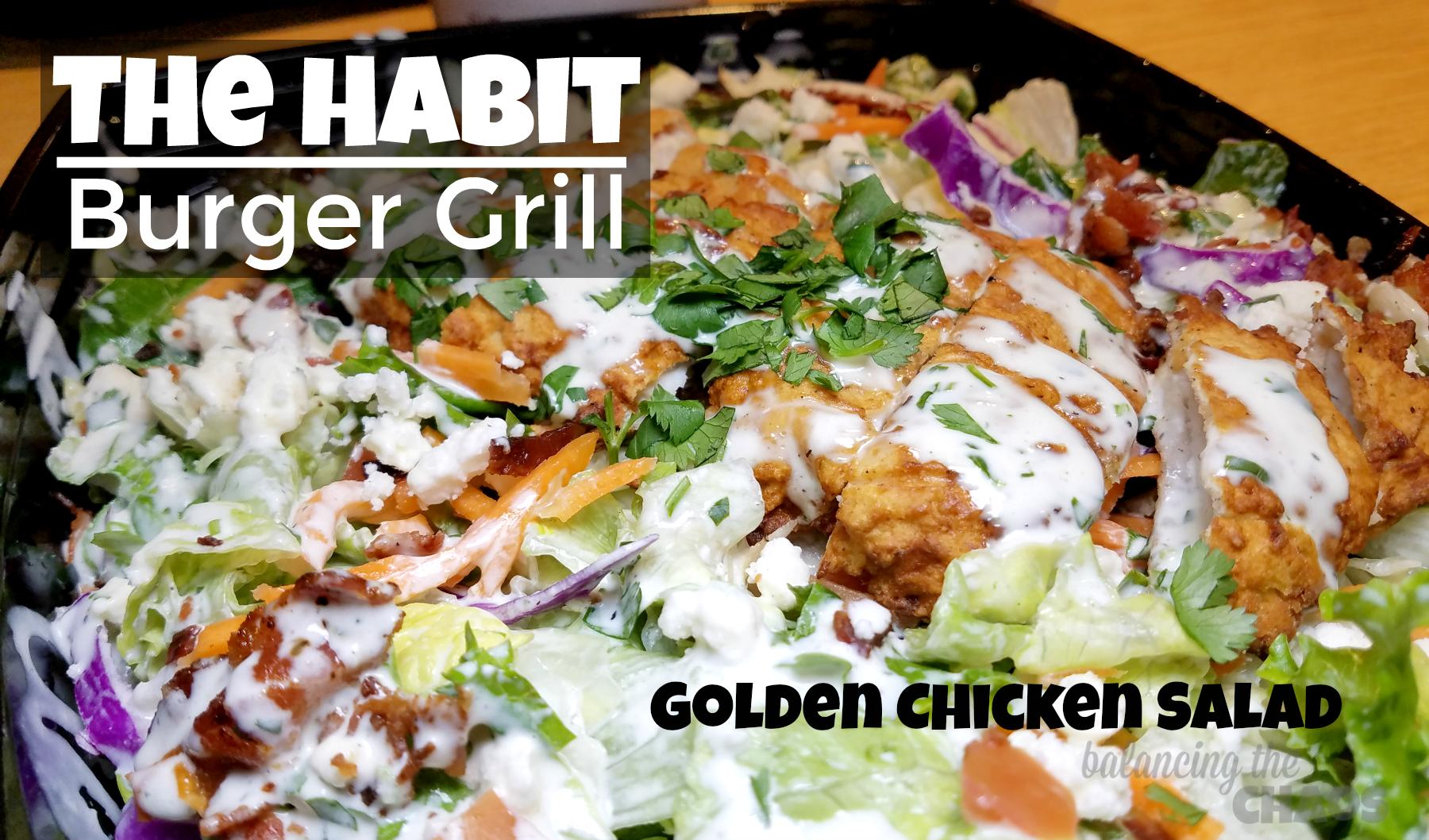 The Habit Burger Grill Golden Chicken Salad