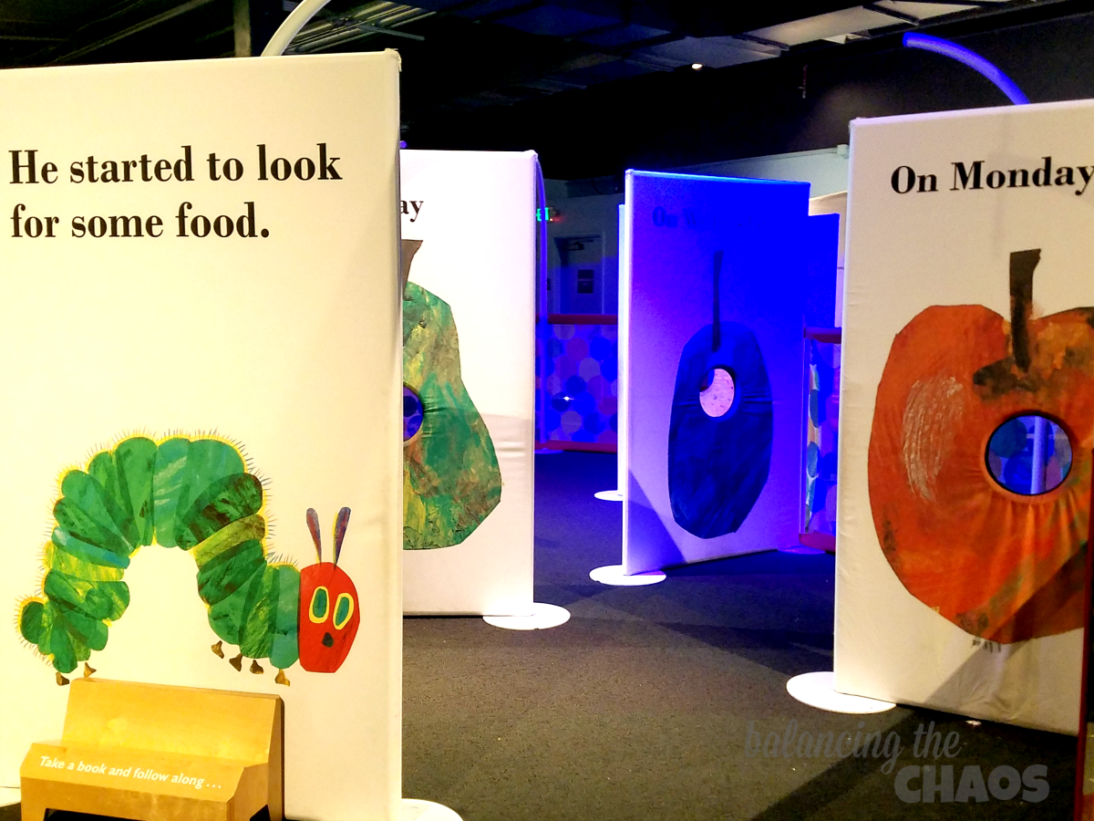 Eric Carle at Discovery Cube OC