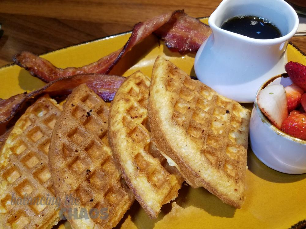 Jimmys Famous American Tavern Waffles