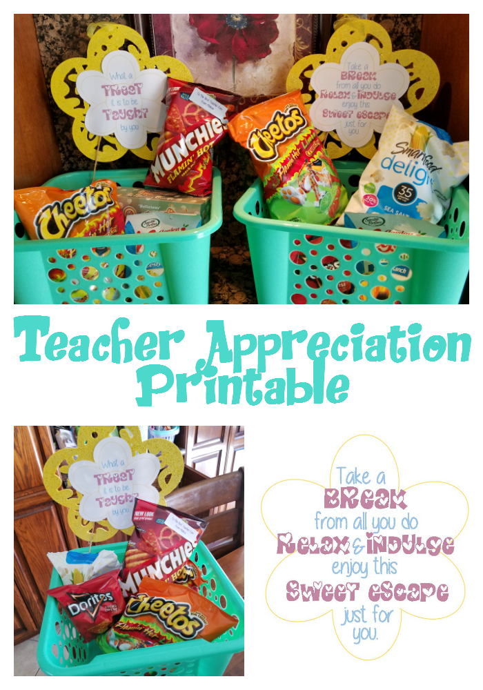 Teacher Appreciation Printable BalancingTheChaos
