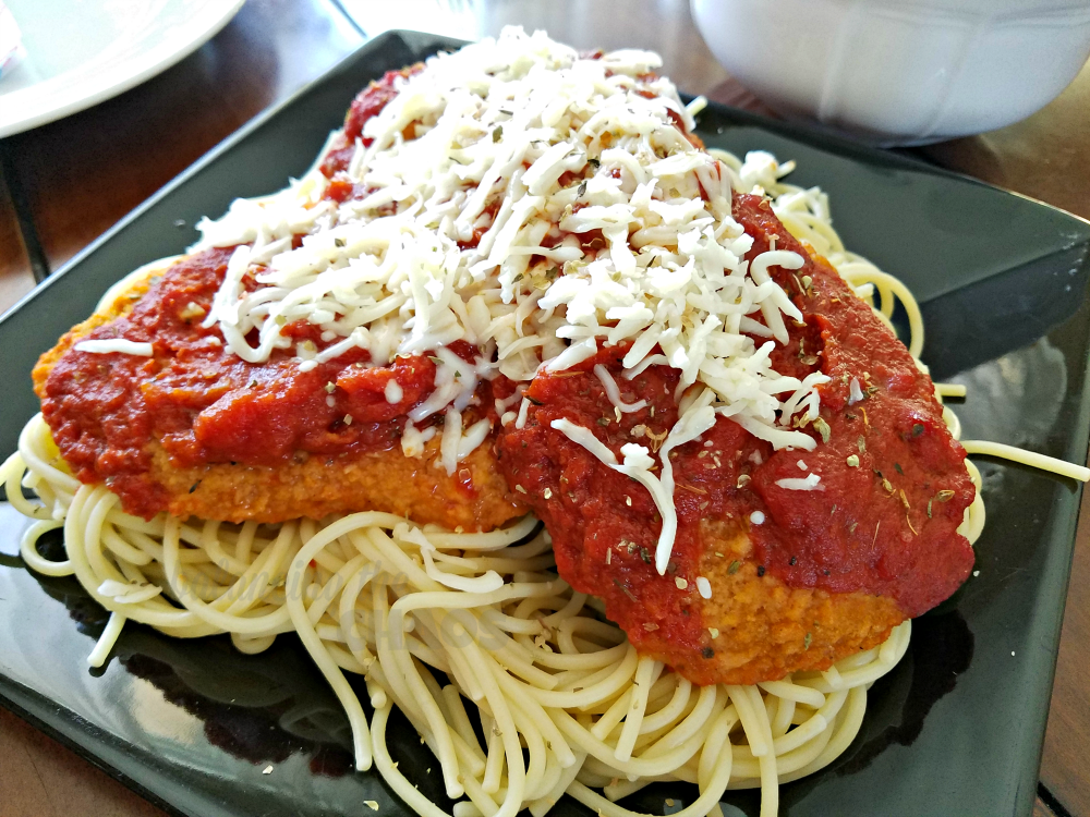 Foster Farms Baked Breast Fillets Chicken Parmesan