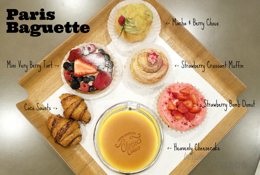 Paris Baguette Sample Platter