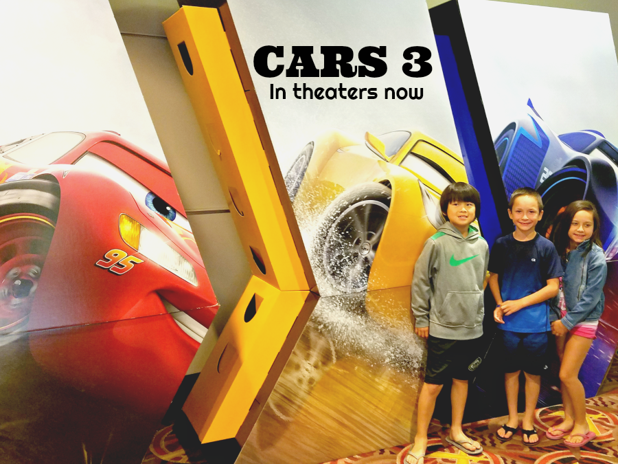 Cars 3 in theaters now