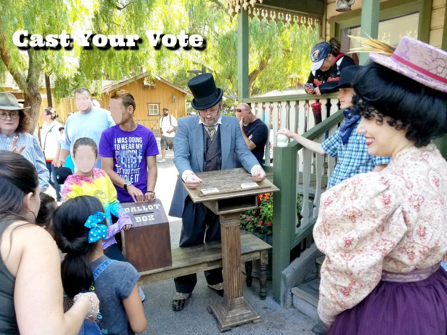 Cast your vote in Calico