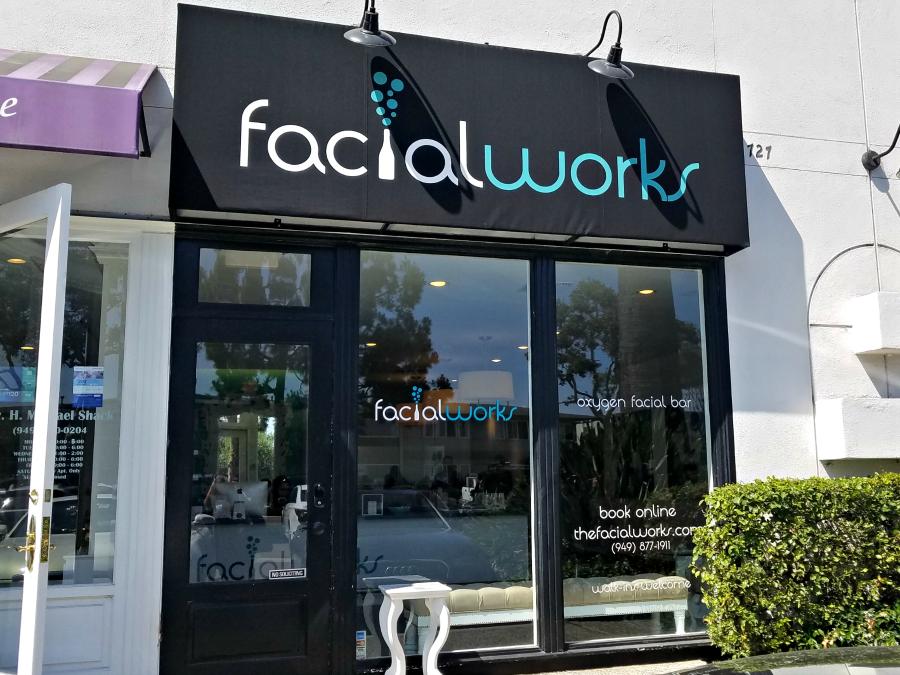 Facialworks oxygen facial bar newport beach