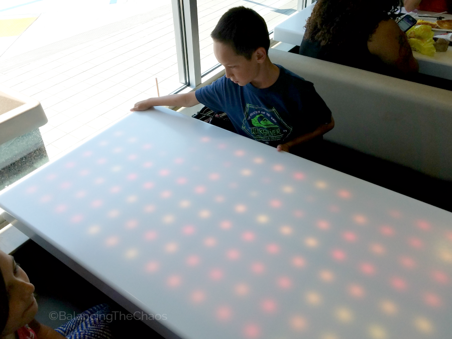 McDonalds Touch Electronic Light Up Tables