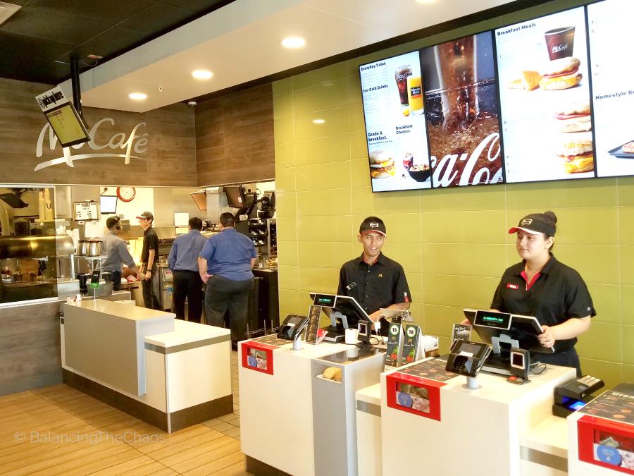 Southern California McDonalds Remodel