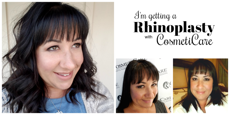 I'm getting a Rhinoplasty with CosmetiCare