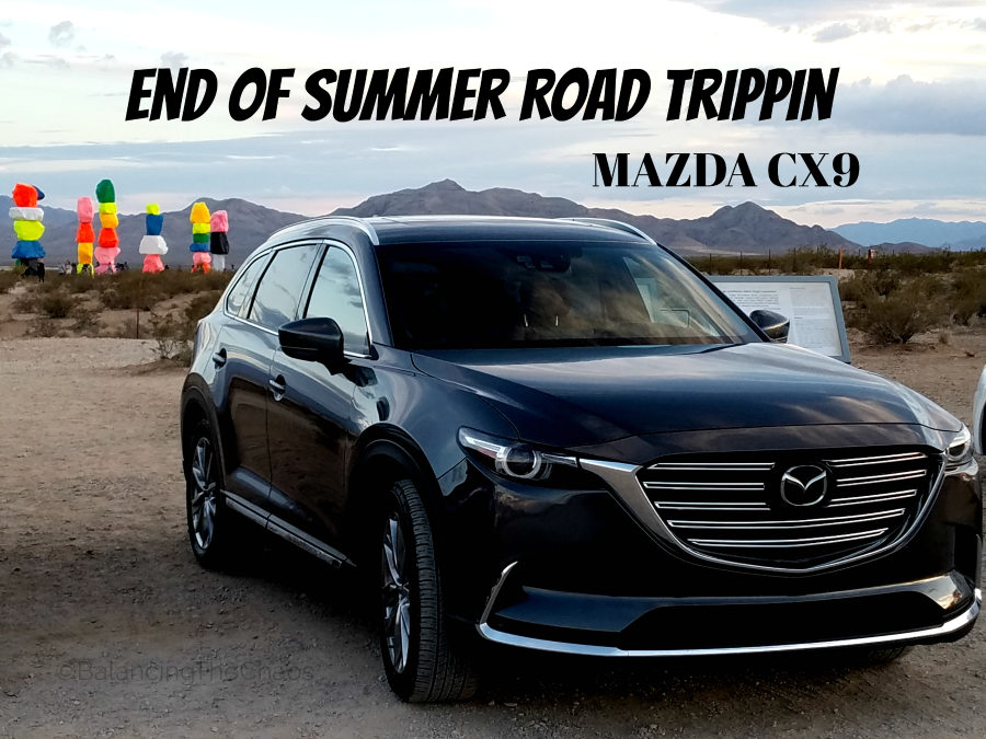 road trippin Mazda CX9 Road Trip