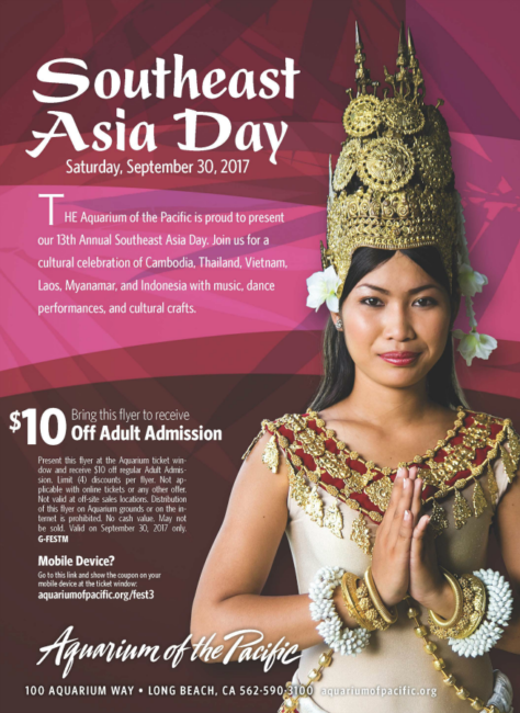 Southeast Asia Day at Aquarium of the Pacific