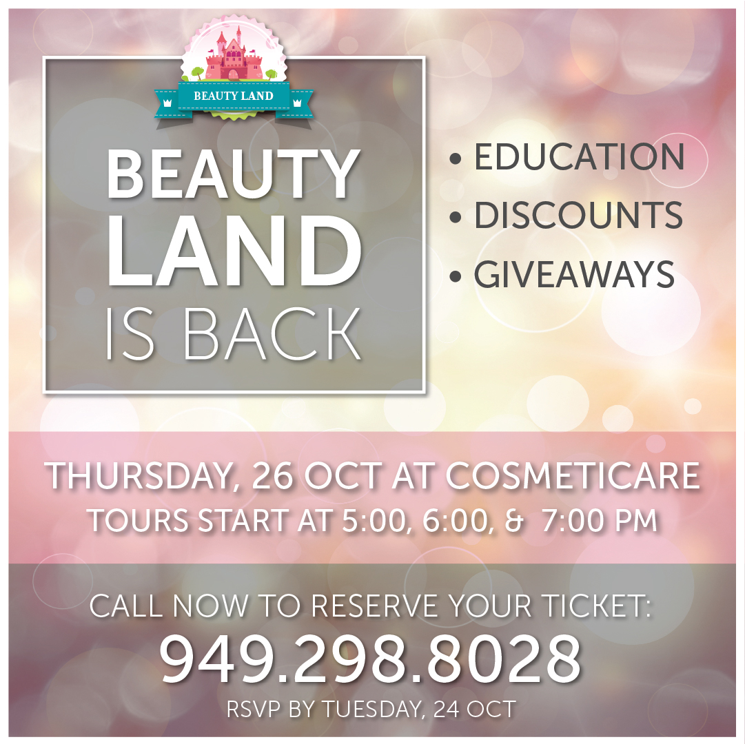 Beautyland Event at CosmetiCare