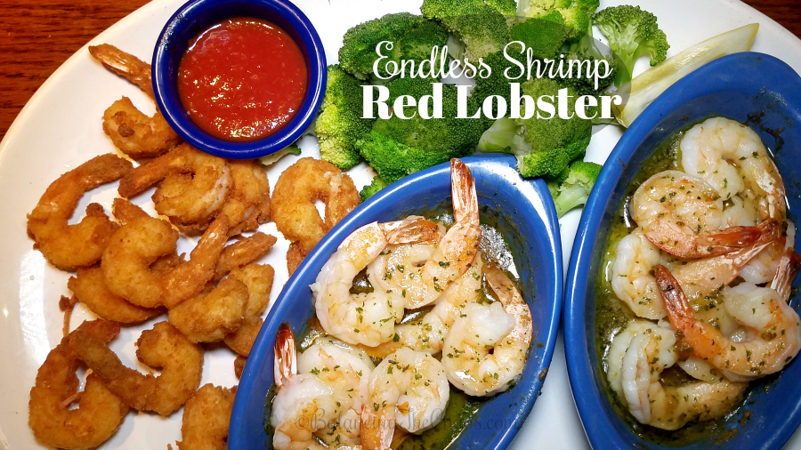 graphic regarding Red Lobster Printable Menu called Love Unlimited Shrimp Previously at Crimson Lobster @RedLobster
