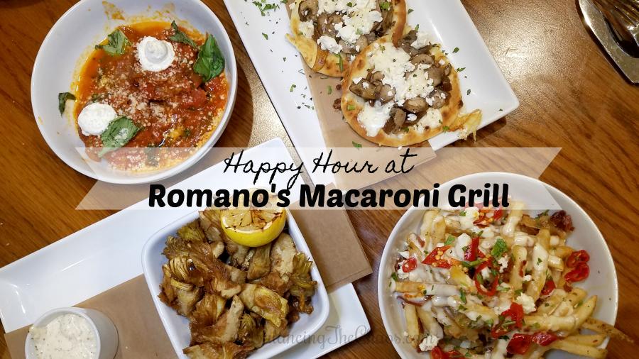 Happy Hour At Romano S Macaroni Grill