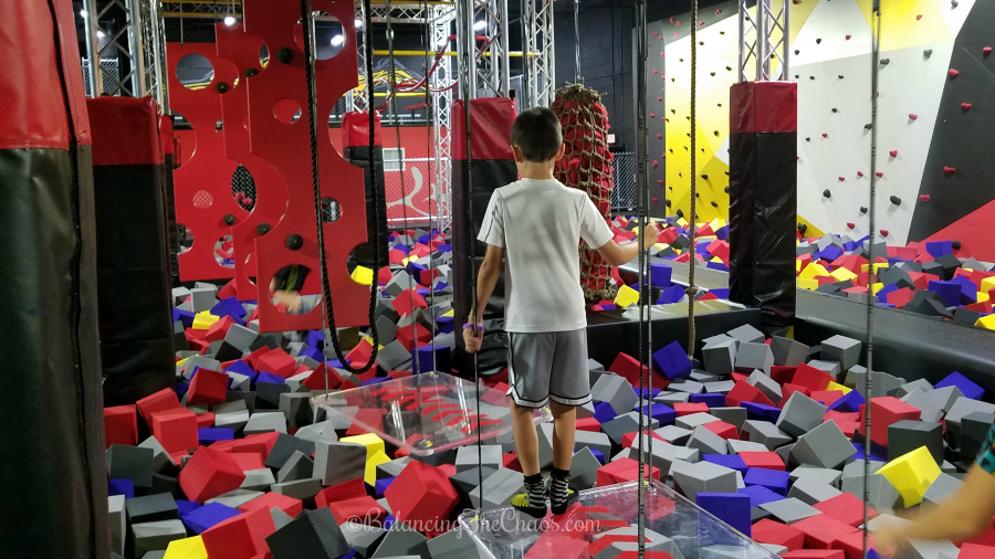 Ninja Obstacle Course at CircusTrix