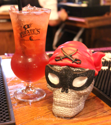 Themed Beverages at Pirates Dinner Adventure