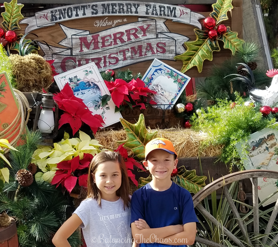 Celebrate the holidays at Knotts Merry Farm