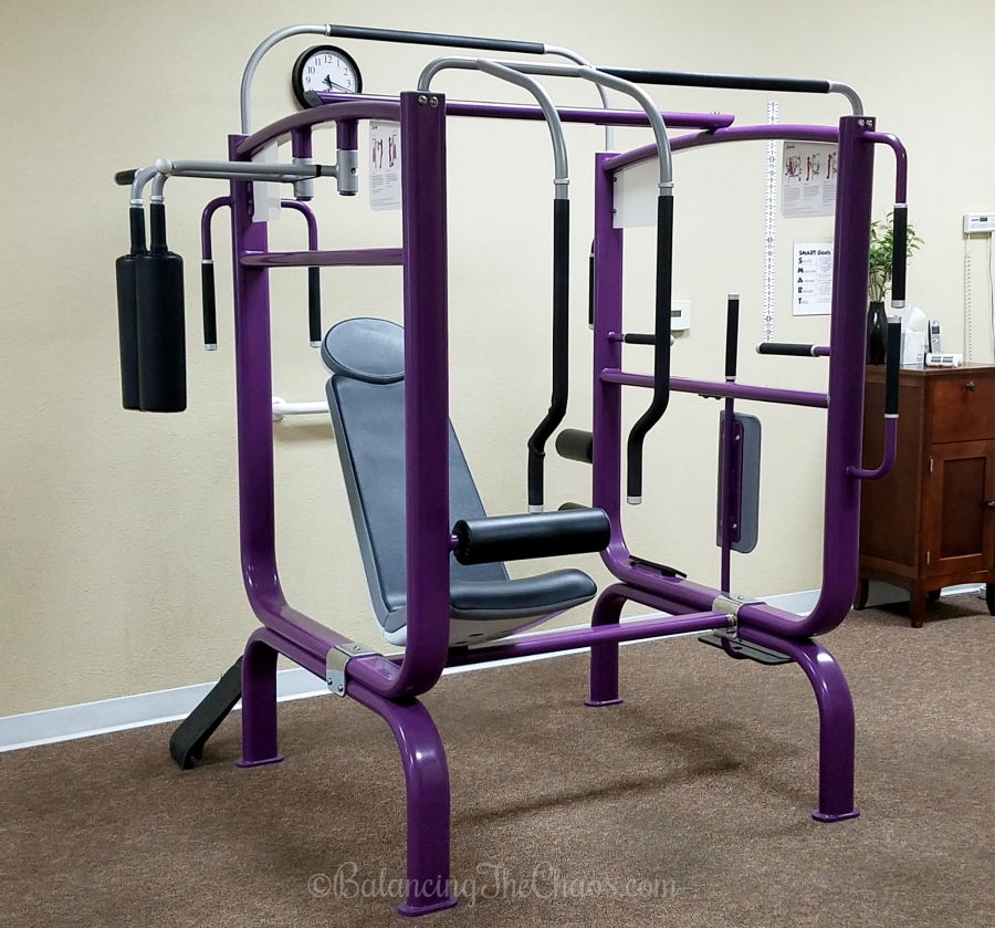Curves Stretching Machine