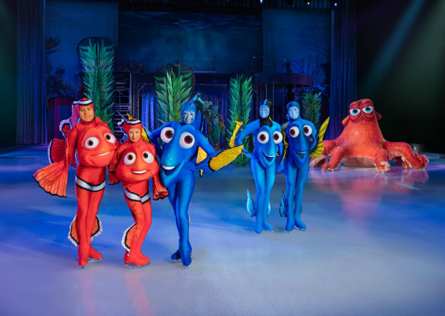 Disney on ice presents follow your heart finding nemo
