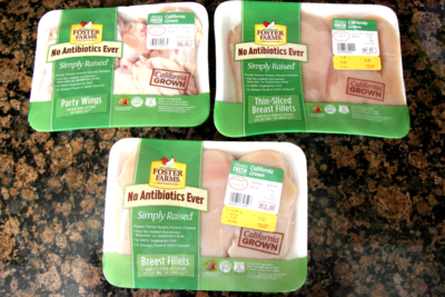 Foster Farms Simply Raised Chicken and Party Wings