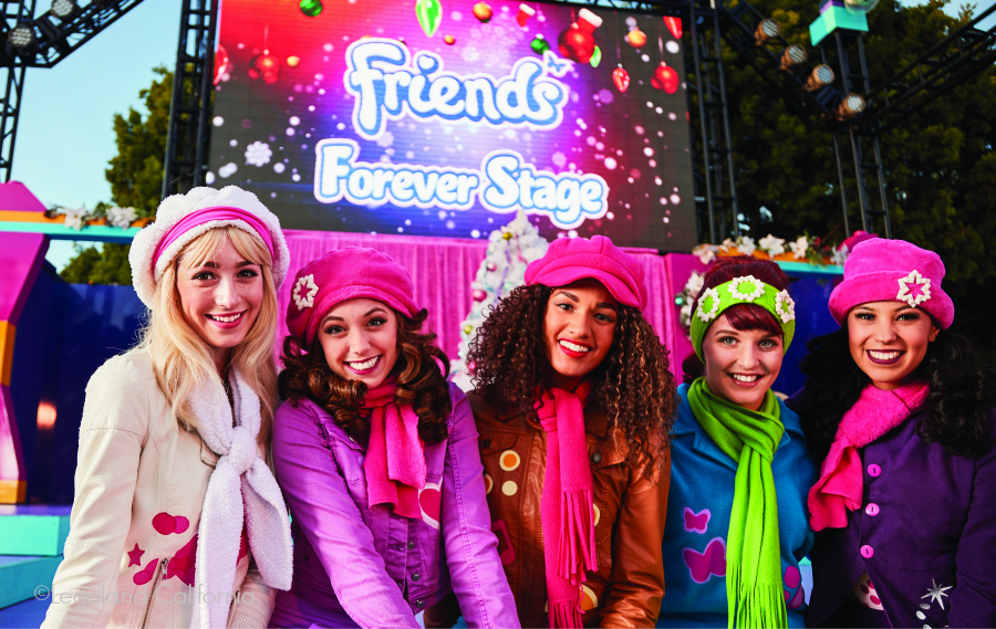 Legoland California Resort Park-Holiday-Friends-Group