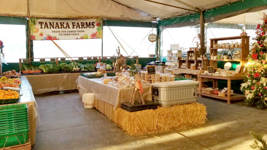 Tanaka Farms Holiday Market Boutique