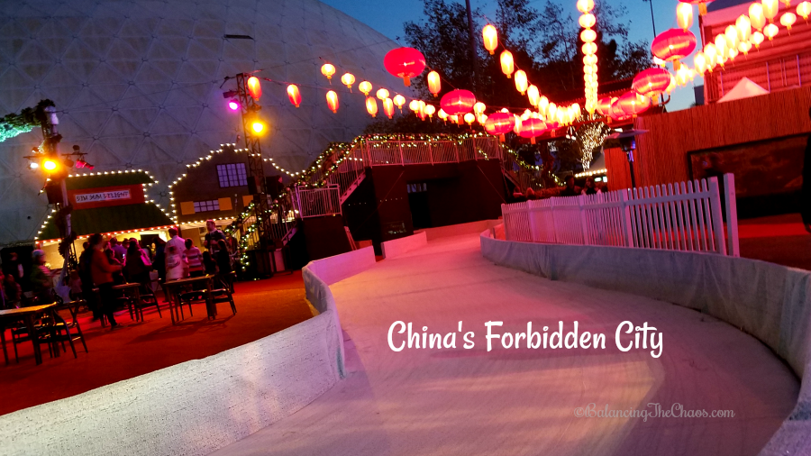 Chinas forbidden city at chill