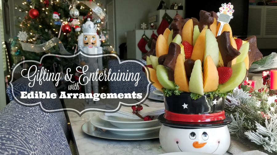 Gifting & Entertaining with Edible Arrangements