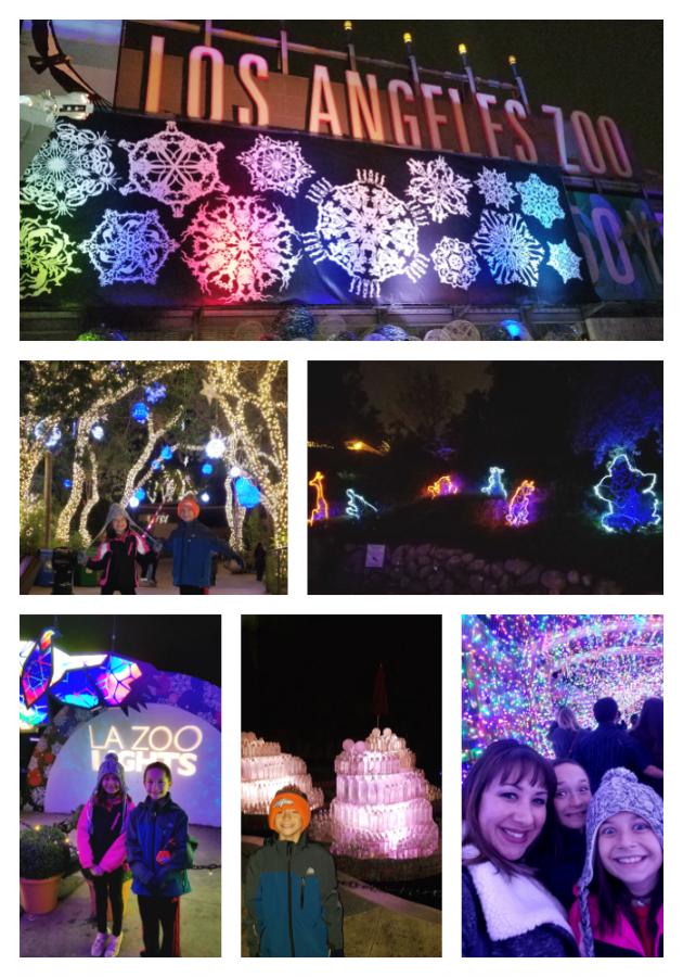LA Zoo Lights Family Fun
