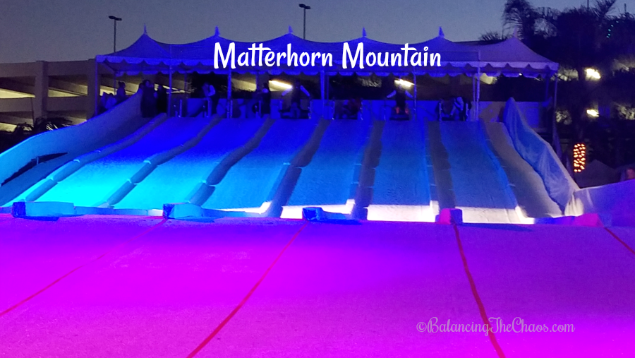 Matterhorn Mountain at Chill The Queen Mary