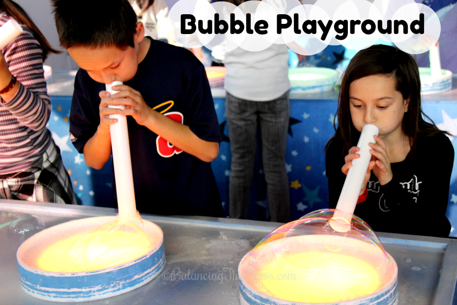 Bubble Playground in Buena Park at The Source OC
